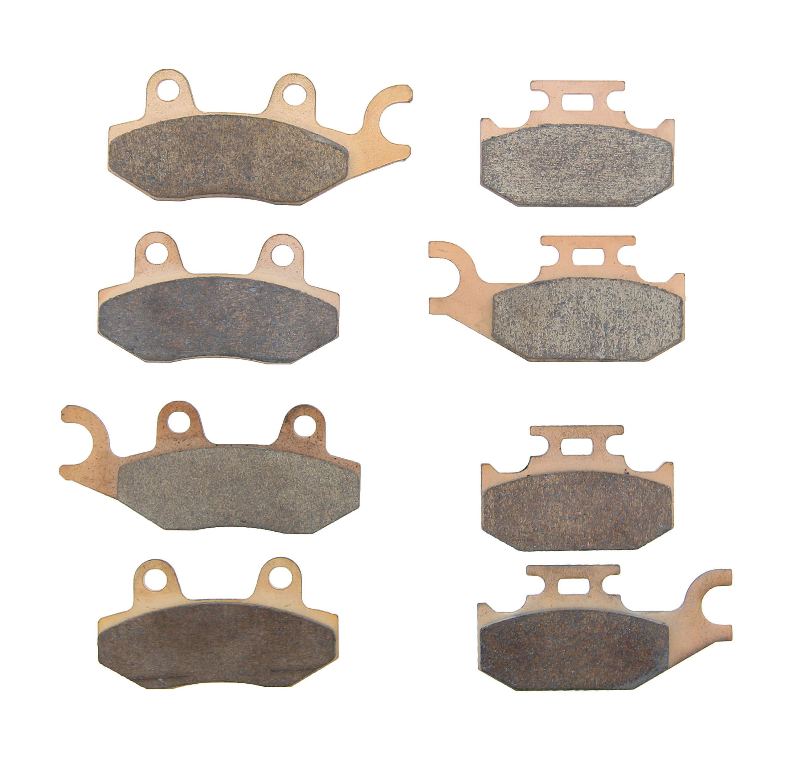 Brake Pads for Can-Am Maverick 1000R 2013-16 Front & Rear Brakes by Race-Driven