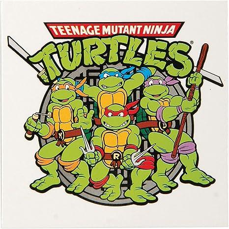 Teenage Mutant Ninja Turtles Group Image Metal Fridge Magnet ...