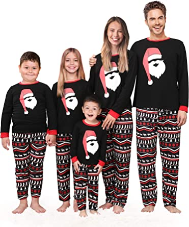 Family Matching Adults Kids Christmas Pyjamas Set Nightwear Pajamas PJs Set Lot
