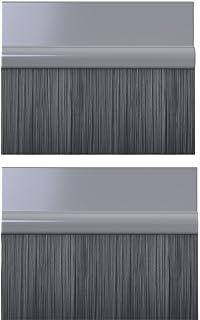 Stormguard 05SR750007MGR Burlete de cepillo, ideal para puerta de garaje, autoadhesiva, 7 m, color negro: Amazon.es: Bricolaje y herramientas
