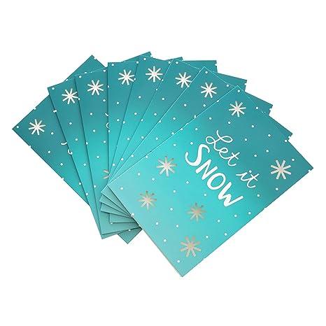 1/design Hallmark 25499994/biglietti di auguri nataliziWarmest pensieri/ /Confezione da 8/biglietti
