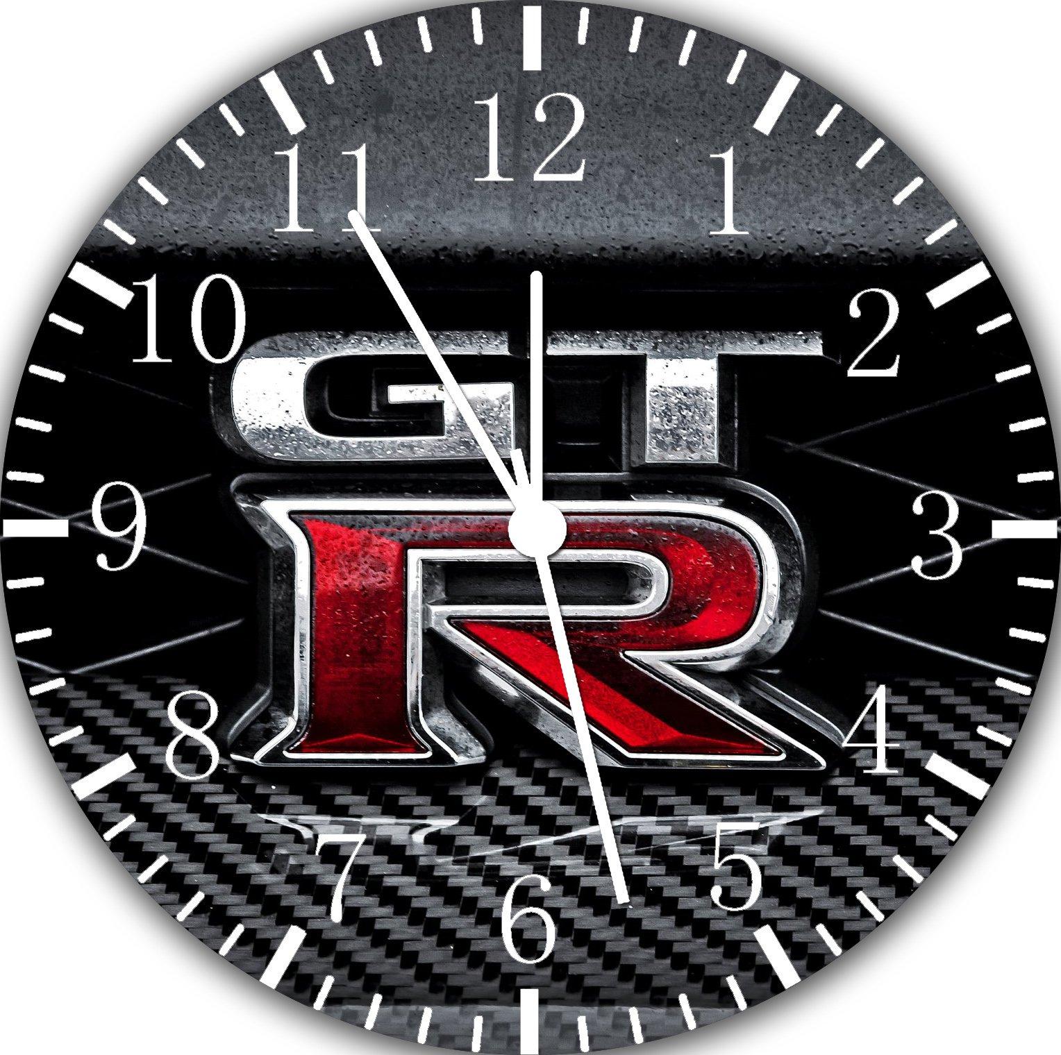 Nissan GTR Frameless Borderless Wall Clock F116 Nice For Gift or Room Wall Decor