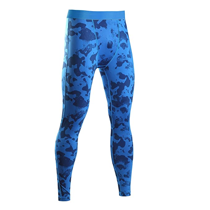 DALLNS Mens Compression Pants Jogger Fitness Excercise Bodybuilding Compression  Tights Long Trousers Pants (Medium 5bd183156