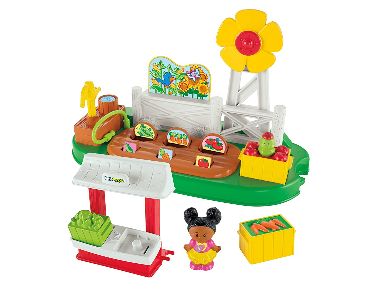 Little People Set de juego growing garden  stand Mattel Y