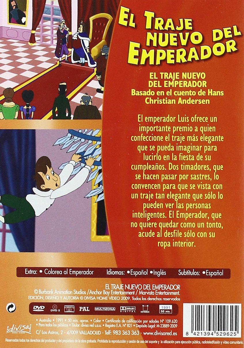 El traje del nuevo Emperador [DVD]: Amazon.es: Cine y Series TV