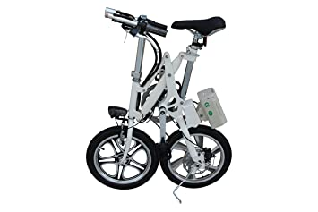 Bicicleta eléctrica plegable Xite KwikFold City (negro)
