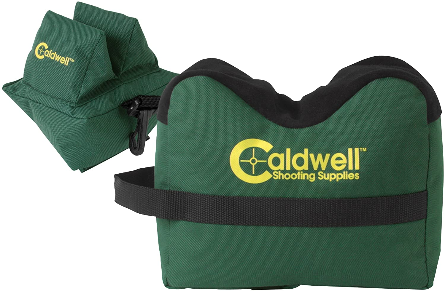 Caldwell DeadShot Boxed Combo Front and Rear Bag with Durable Construction and Water Resistance for Outdoor, Range, Shooting and Hunting