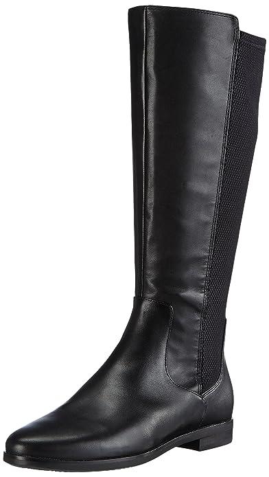 09d817b92ca ECCO Women's's AARHUS Ankle Boots Black (BLACK/BLACK51052), 3 UK ...