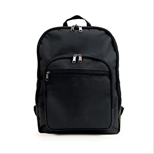 Hopkins Medical Products Home Healthcare Backpack, Waterproof 600D Polyester, Adjustable Straps, Reinforced Bottom, Black