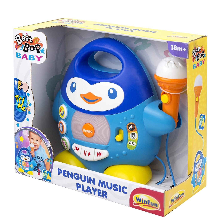 winfun Kids Toddler Electronic Sing Along Karaoke Penguin