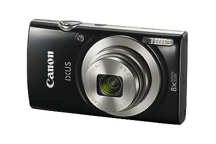 Amazon Com Canon Ixus 185 Elph 180 Black Digital Compact Camera