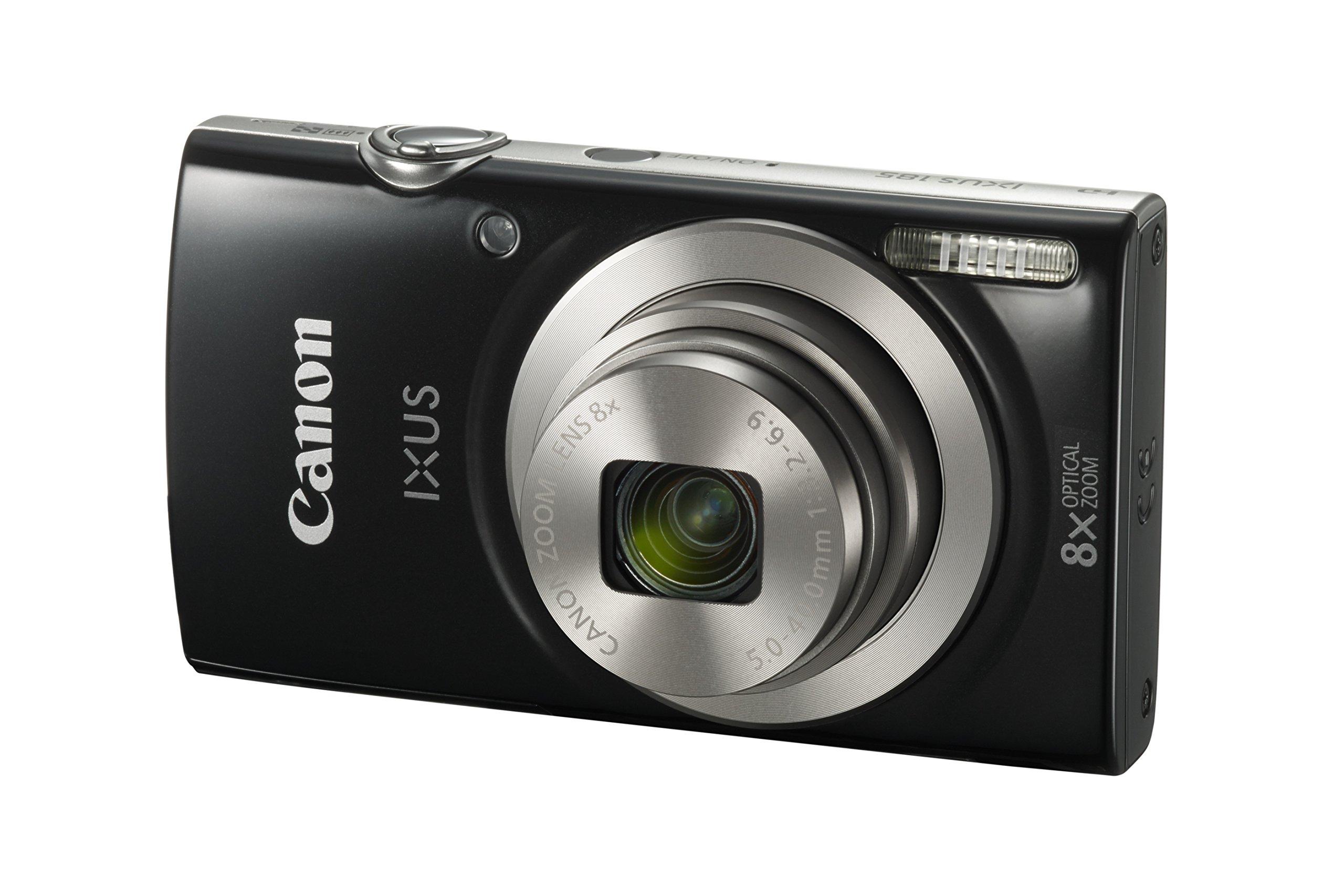Canon Ixus 185 Digital Camera Black Buy Online In Samoa At Desertcart