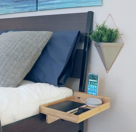 Night Stand Designs : Amazon ovivo designs floating night stand bamboo bedside