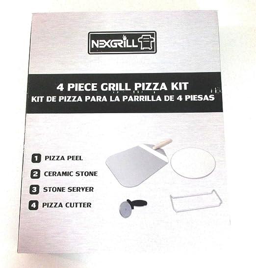 Amazon.com: Nexgrill 4 Piece Grill Pizza Set - Model 530 ...