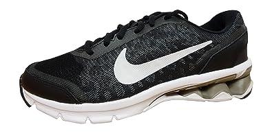 NIKE Womens Reax Run 10 Running Trainers 744414 Sneakers Shoes US 65 Black White