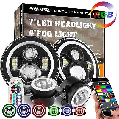 "7"" LED Headlights"
