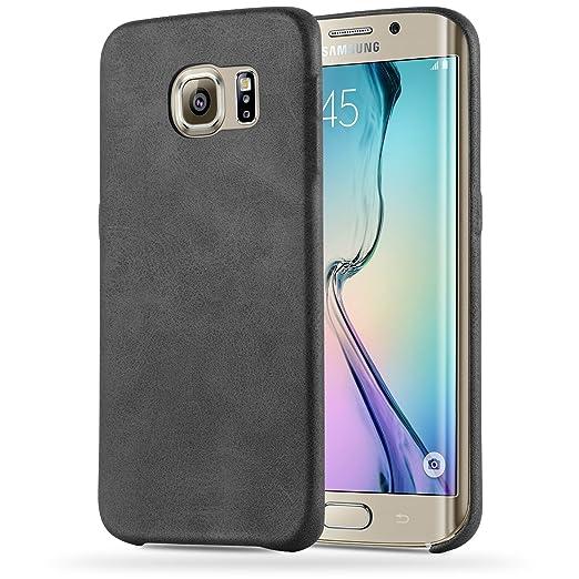 8 opinioni per Cadorabo- Retrò Vintage Samsung Galaxy S6 EDGE Hard Cover Slim Case di