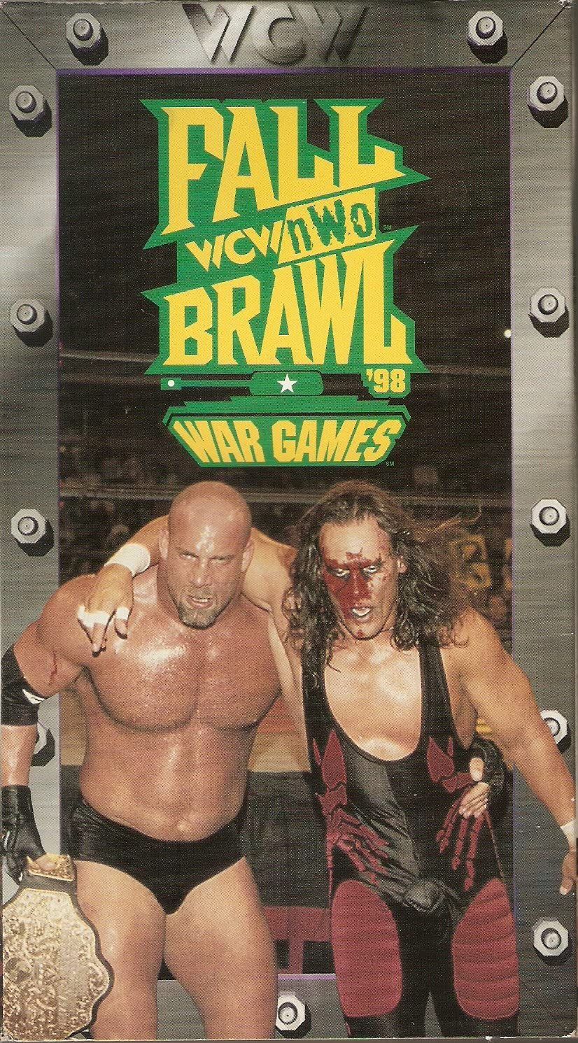 Wcw Fall Brawl War Games Wrestling T Shirt Black