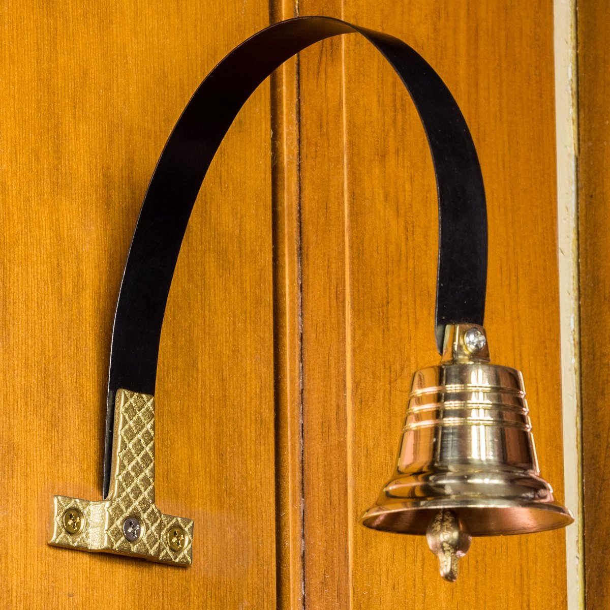 Dog Doorbell - GoGo Bell Deluxe with Solid Brass Bell For Loud Clear Tone by Dog Doorbell (Image #4)