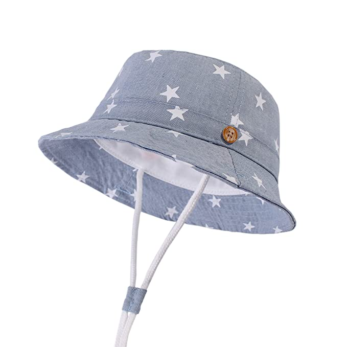f13333527d925 LANGZHEN Sun Protection Hat for Kids Toddler Boys Girls Wide Brim Summer  Play Hat Cotton Baby