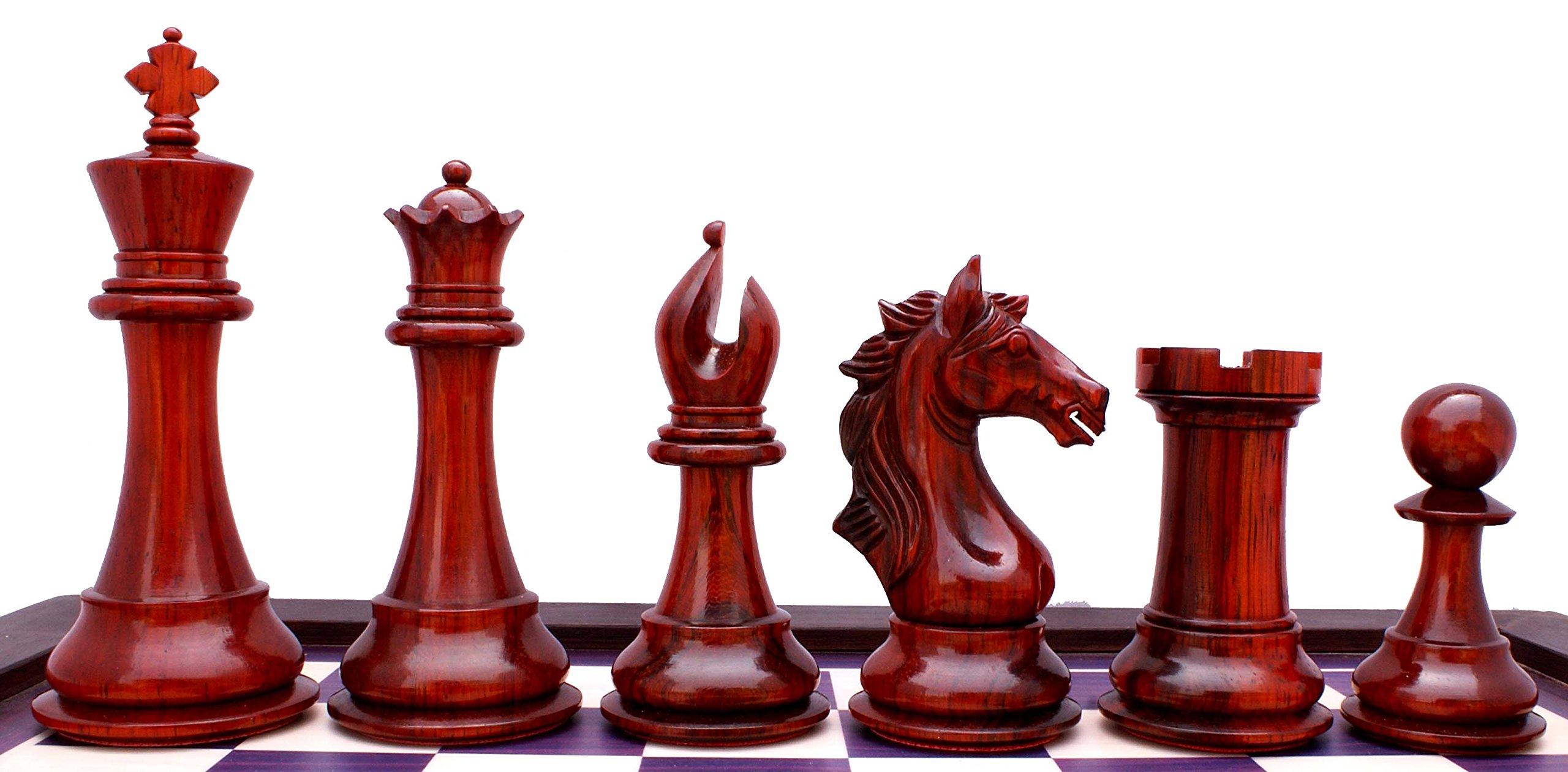 Elite Series Premium Staunton 4'' Chess Set by Staunton Empire (Image #5)