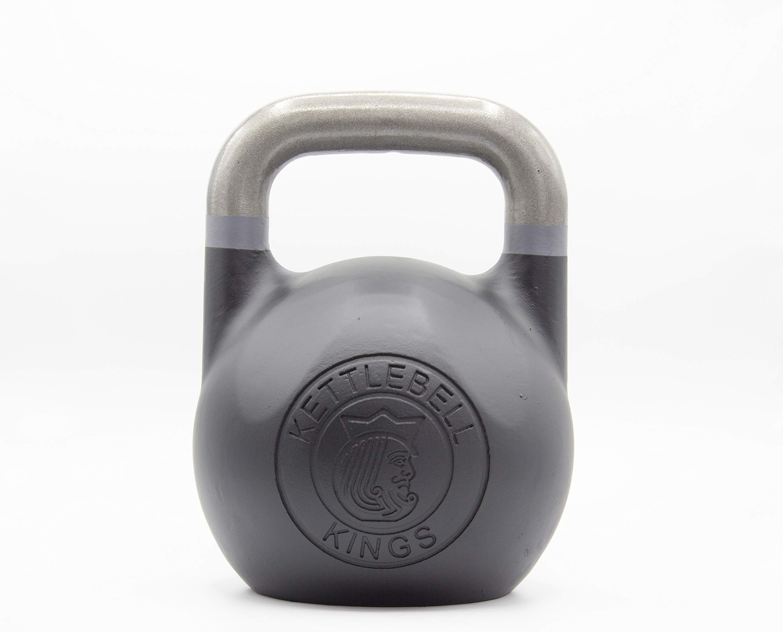 Kettlebell Kings | Kettlebell Weights | Competition Kettlebell Weight Sets for Women & Men | Built in American Style | Same Size & Dimension Across All Weights (75)