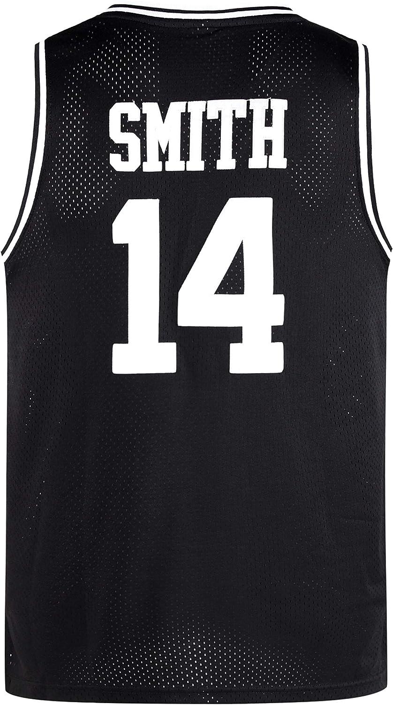 Lduk CL Youth 23# Movie Jerseys for Kids jam Space Jerseys Black//White//Blue