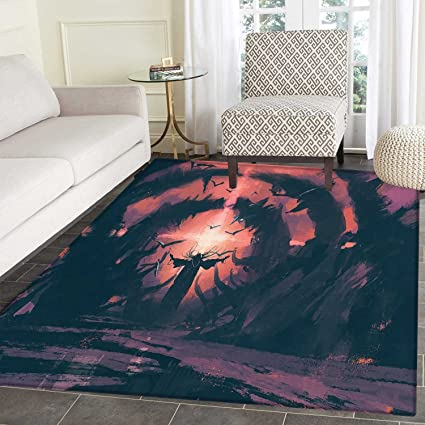 Amazoncom Fantasy Dining Room Home Bedroom Carpet Floor Mat An Old
