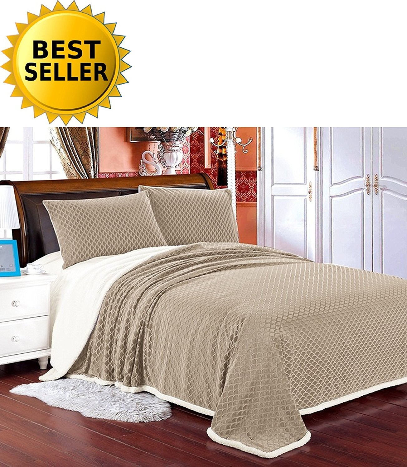 rosamond piece colored bag comforter today home bath in shipping bed chic free product cream overstock a set bedding
