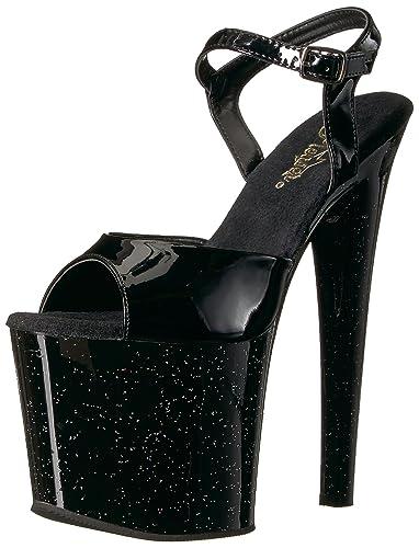 Pleaser Taboo 709MG Ankle-Strap Platform Sandal (Women's) 65xXL4V