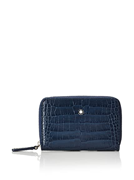 Montblanc Monedero 112976 Azul Única: Amazon.es: Zapatos y ...
