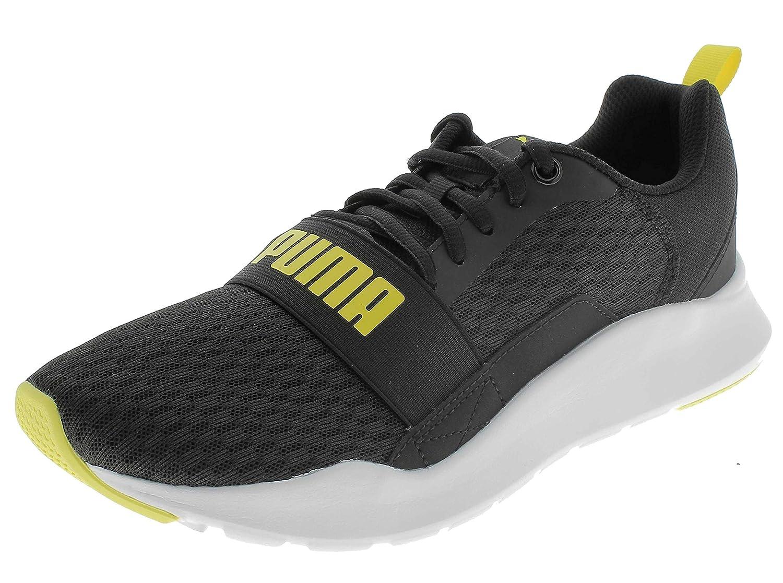 Wired Black-Blazing Yellow Sneaker-12