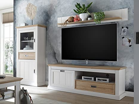 Wohnwand TV-Wand Schrankwand Wohnzimmerwand Mediawand Anbauwand