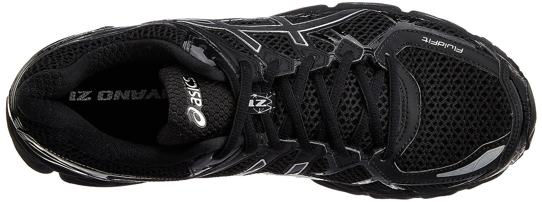 Kayano Gel Asics De Los Hombres 21 Corriendo Zapato Negro pdcU7
