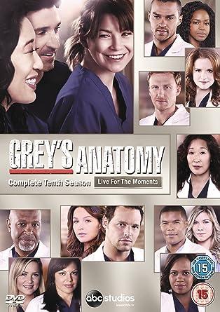 Greys Anatomy Season 10 Dvd Amazon Ellen Pompeo
