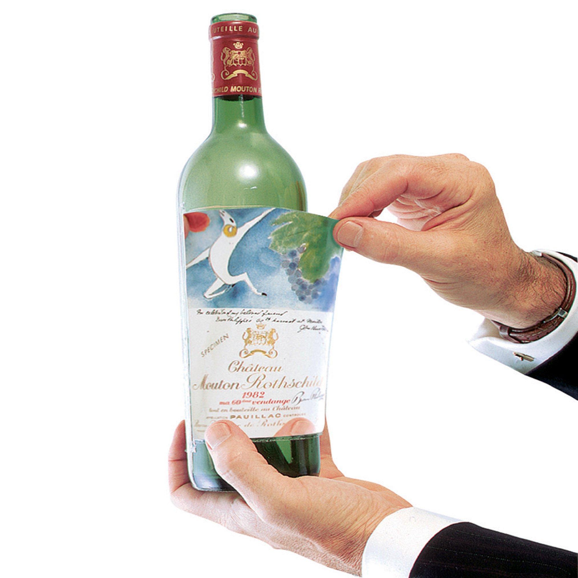 Wine Enthusiast Label Savers, Set of 10