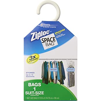 Amazon Com Space Bag Wbr 5700 Vacuum Seal Clear Hanging