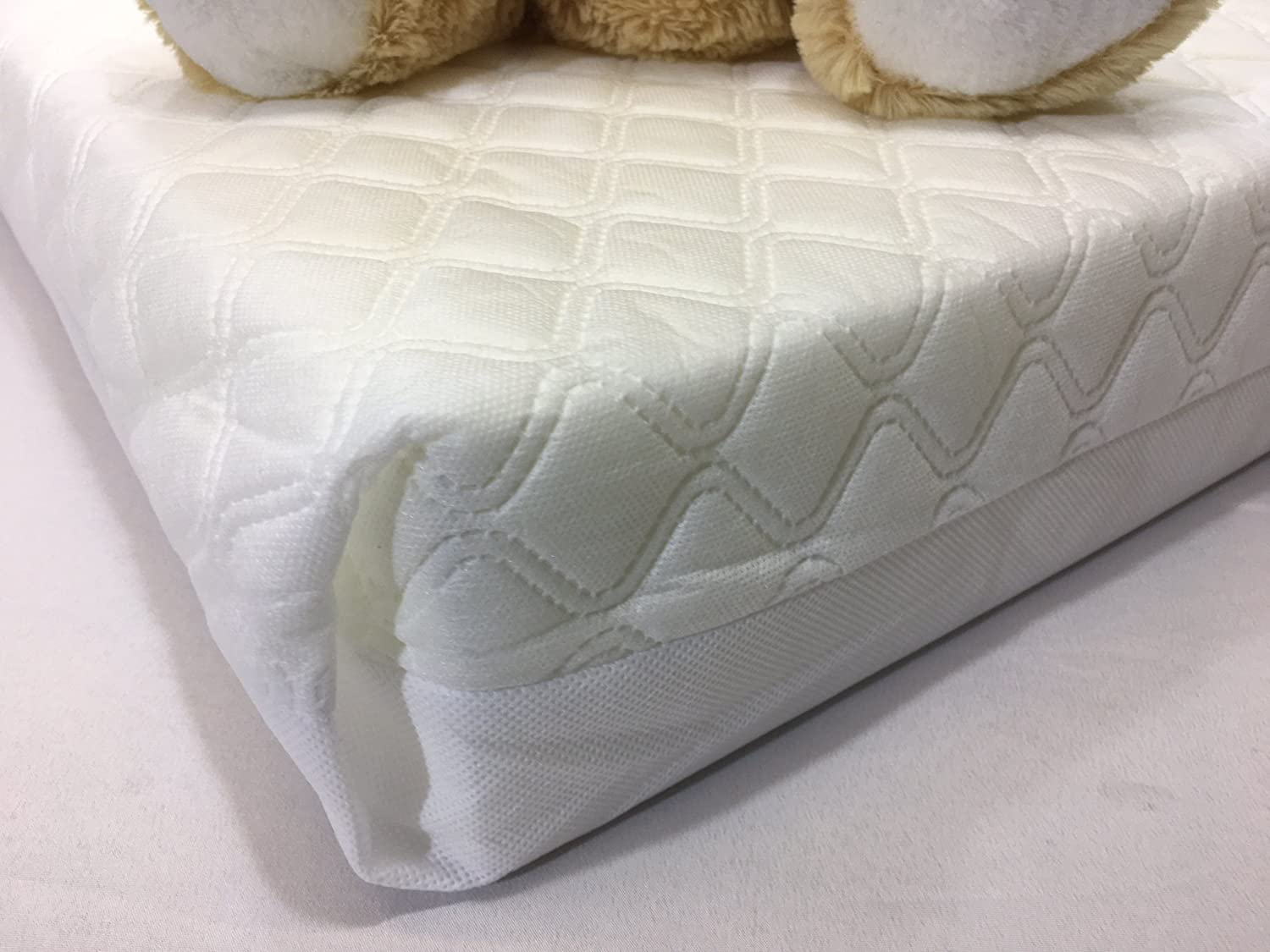 Travel Cot Mattress 110x70cm Size and 10cm Thick So More Comfy cot Bed