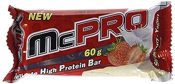 Amix McPro Protein Bar 20 Barritas x 60 gr Fresa-yogurt