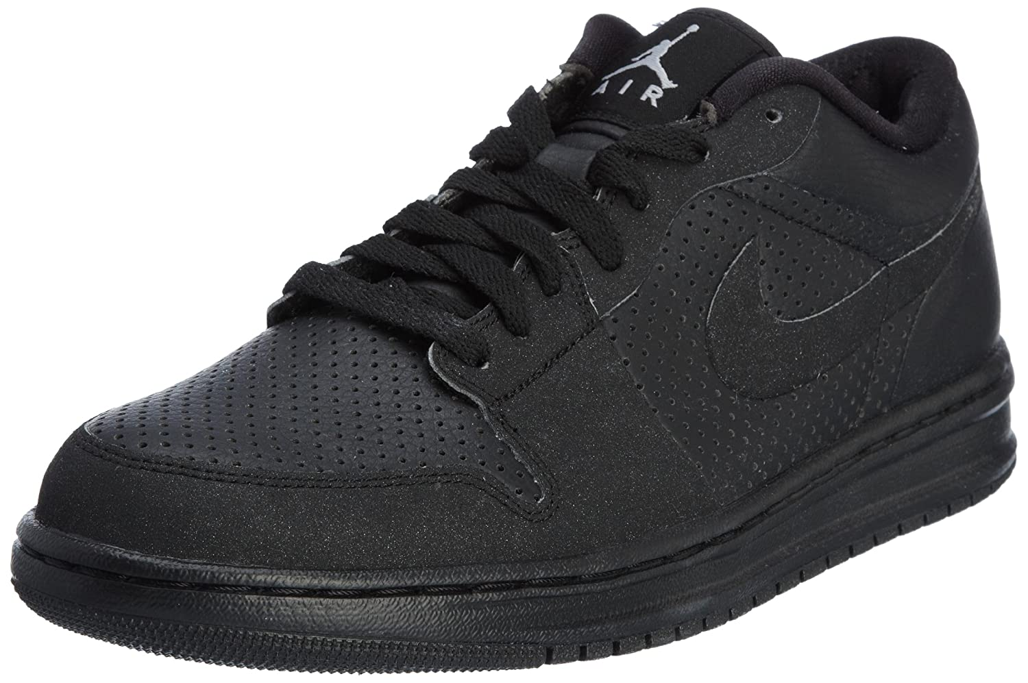 online store 602ba 65551 Amazon.com   Jordan Alpha 1 Men s Basketball Shoes (8) Black   Basketball