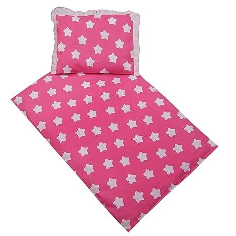 Funda rawstyle 4 piezas Set (Rosa + Estrellas redondo color ...