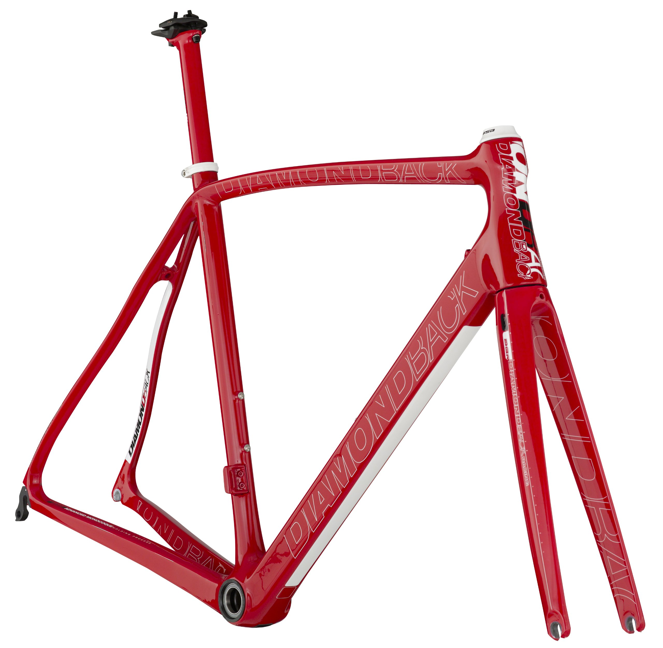 Diamondback 2013 Podium 7 Carbon SL Bike Frameset, Red