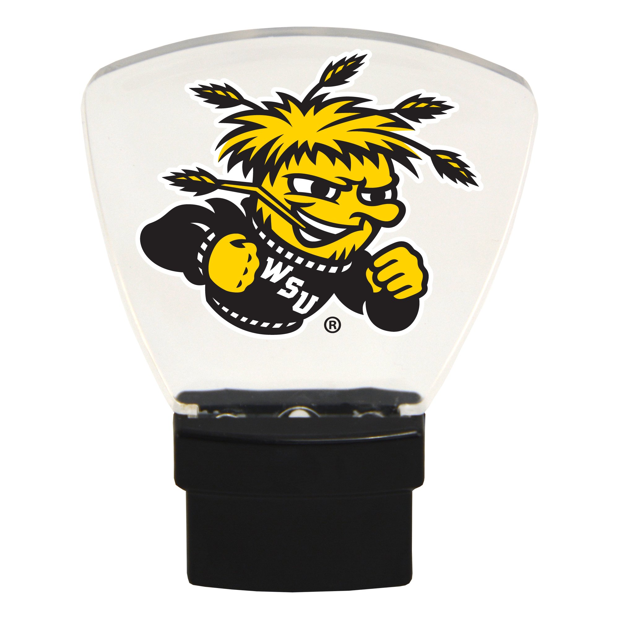 Authentic Street Signs NCAA LED Nightlight (Wichita State Shockers)