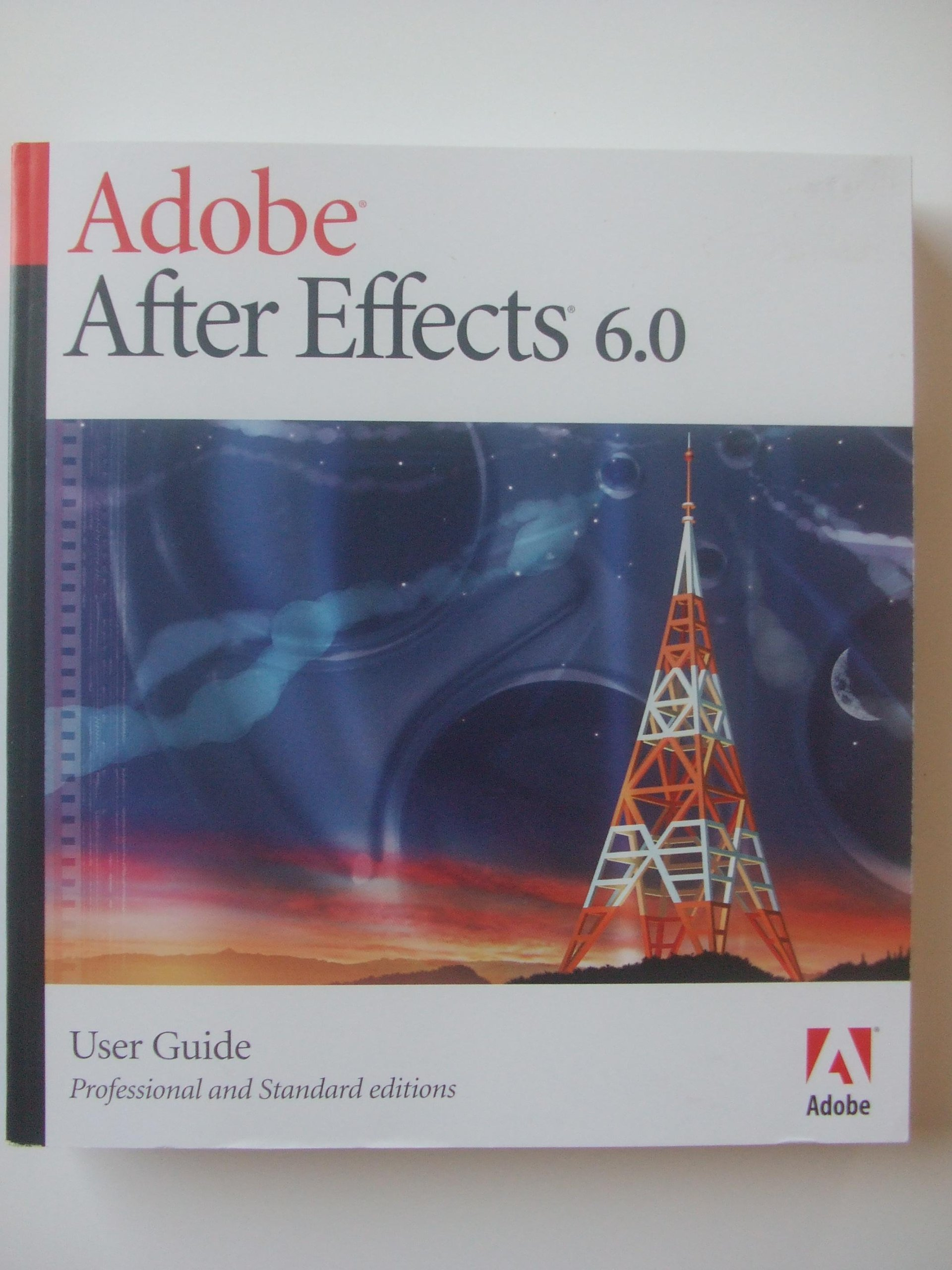 Adobe after effects 6. 0 user guide (professional and standard.