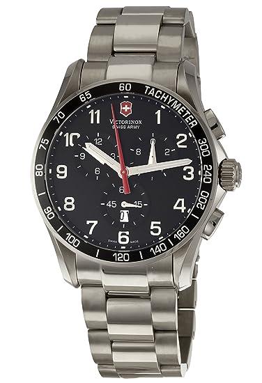 Victorinox 241261 - Reloj de Pulsera Hombre, Titanio, Color Plata: Victorinox Swiss Army: Amazon.es: Relojes