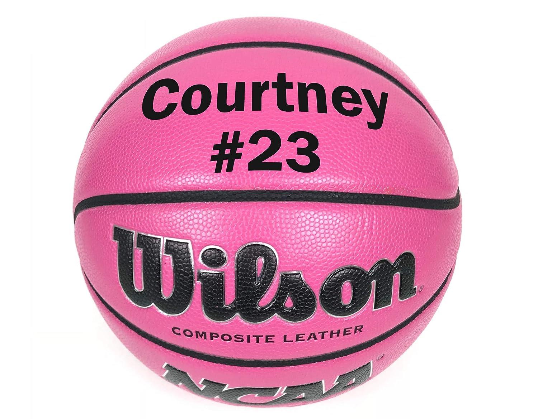 Wilson - Balón de Baloncesto Personalizado, Color Rosa, tamaño 6 ...