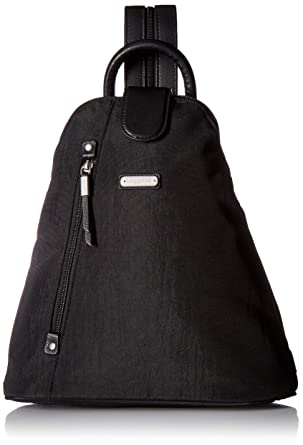 8c39a8561 Amazon.com: Baggallini Metro Backpack With Rfid Wristlet, black: Clothing