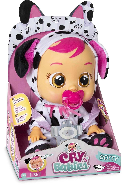 IMC Toys - Bebés Llorones, Dotty Dalmata (96370)