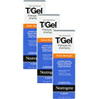 Neutrogena T Gel Shampoo Extra Strength (Pack of 3)