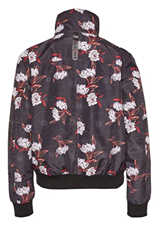 39ef9b1687ea4 Chiemsee Damen Im Angesagten Blouson-Schnitt und All-Over-Print Jacke   Amazon.de  Bekleidung